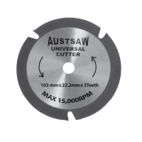 Austsaw - 103mm (4in) Universal Cutter - 22.2mm Bore - 3TCT Teeth