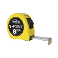 8m/27ft x 25mm V-Force Metric/Imperial Measuring Tape