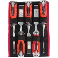 Sterling Ultimax Wood Chisel: 5 Piece Set 6,12,19,25,32mm